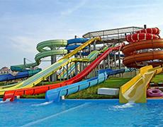 XS-HX0002水上螺旋滑梯