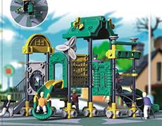 XS-JM7008最新积木系列儿童滑梯