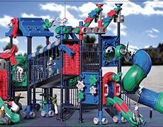 XS-JM7022最新积木系列儿童滑梯